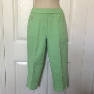 Quacker Factory Dream Jeannes Capris NWOT XXS